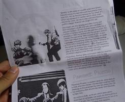 バンクシーの絵:タイ英語プチ留学