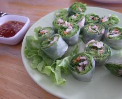 ベトナム料理,生春巻き:タイプチ英語留学